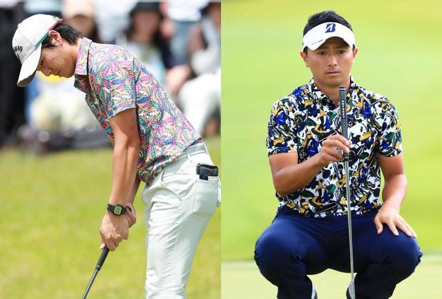 画像: 写真左)平均パット数1位の石川遼選手、写真右)アジア・欧州で磨いた技が光る片岡大育選手