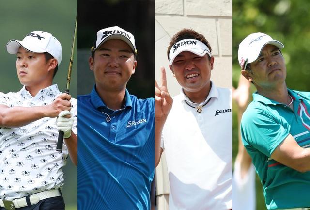 画像: 写真左から、今平周吾選手、出水田大二郎選手、秋吉翔太選手、武藤俊憲選手