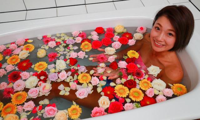 画像: 薔薇、ガーベラ、色とりどり