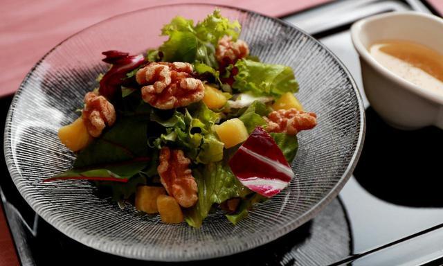 画像: 【サラダ】薩摩芋のサラダ。薩摩芋をはじめ、すべて那須高原産