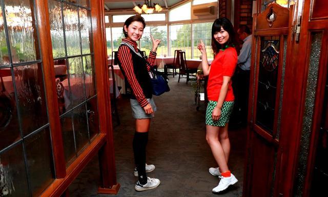 画像: 25那須ゴルフガーデンを眺めながら朝ごはん!