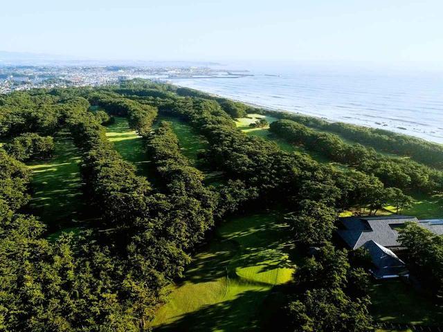 画像: 大洗ゴルフ倶楽部 太平洋沿いの黒松の林の中にある