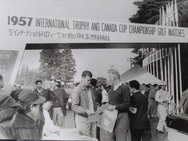 画像: 第5回カナダカップのゲート。初の日本開催とあって大盛況だった