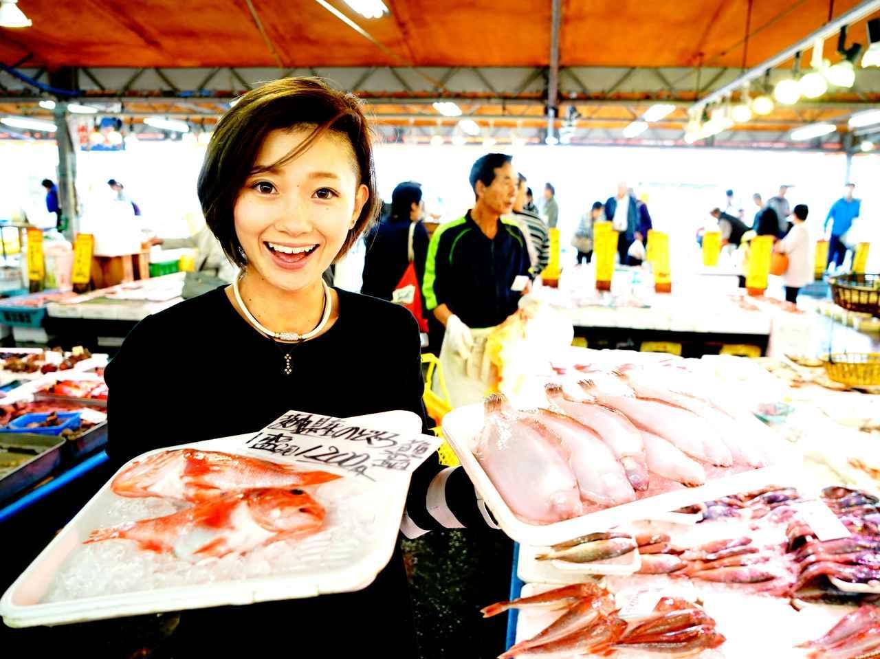 """画像: 高級魚の""""のどぐろ""""だって、一盛1200円! 湊産マゴガレイは煮付がおすすめだそう"""
