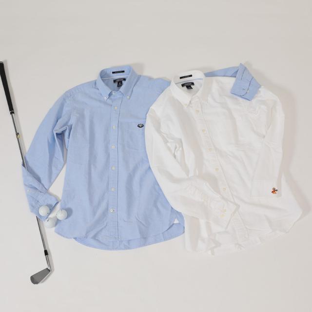 画像: カラーは、ブリスクブルー・ホワイトの2色。サイズは、日本サイズのM・L・XLの3サイズ展開。