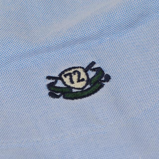 画像: ブルーは「72」エンブレムを左胸に