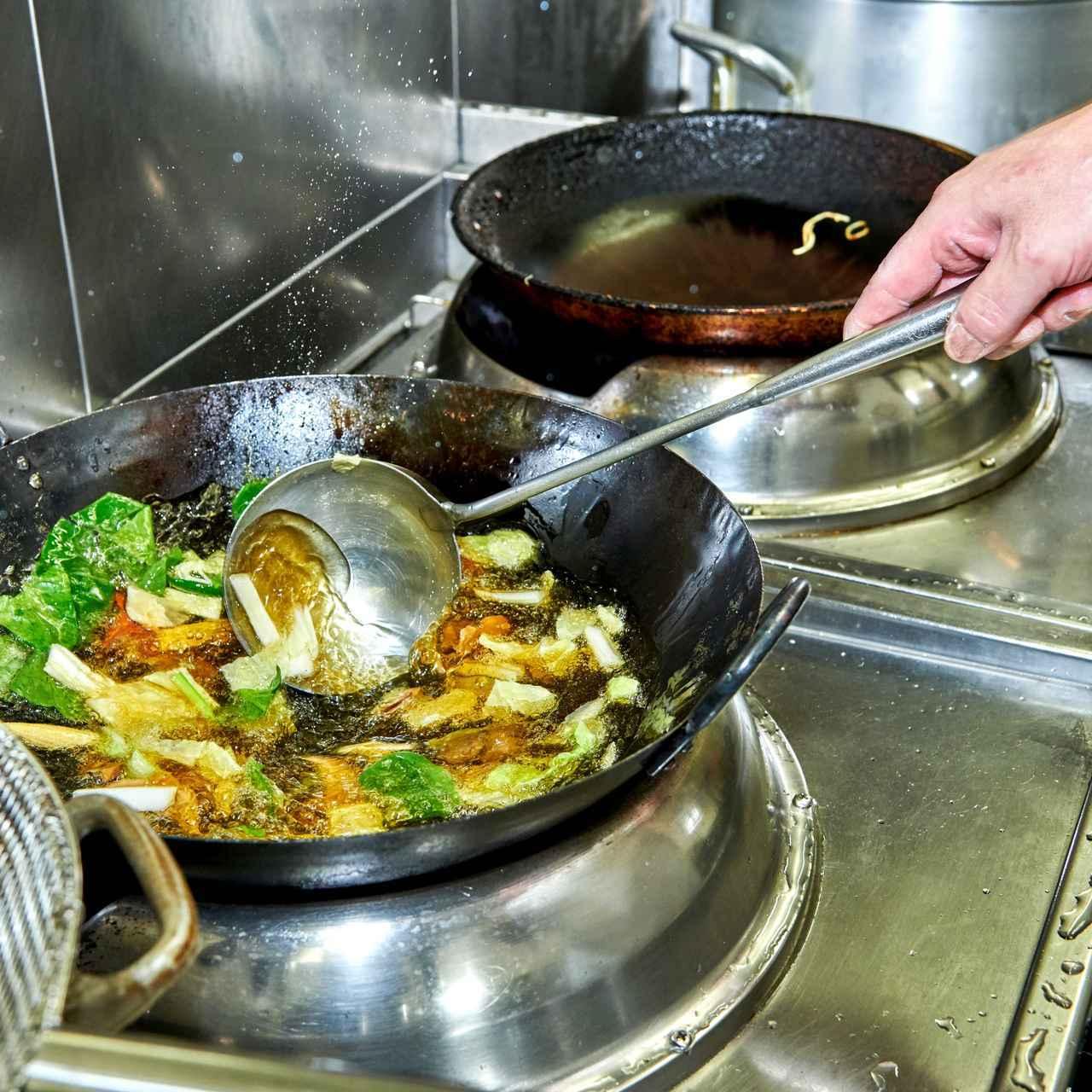 画像: サッと油通した野菜は、あんかけにしてもシャキシャキ感が際立つ