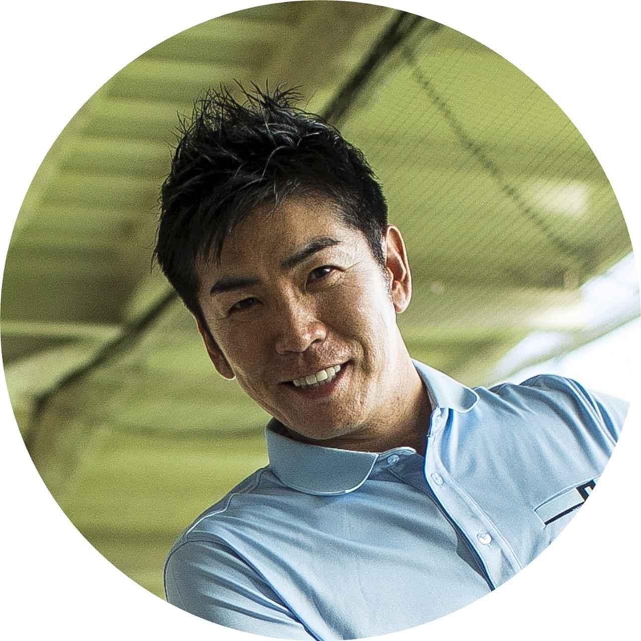 画像: 【聞いた人】吉田洋一郎プロ よしだひろいちろう.。39歳。週刊GD連載「反力打法」でお馴染み。世界の名だたるコーチを訪ね、直接吸収し、プロ・アマへのレッスンも行う