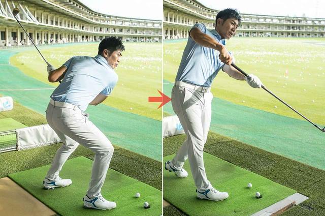 """画像: 「ホッケーのスティックも""""時松型""""握りで、パックに下から当てないと速く真っすぐはいかない。さばき方も同じ。このイメージは使えます」"""