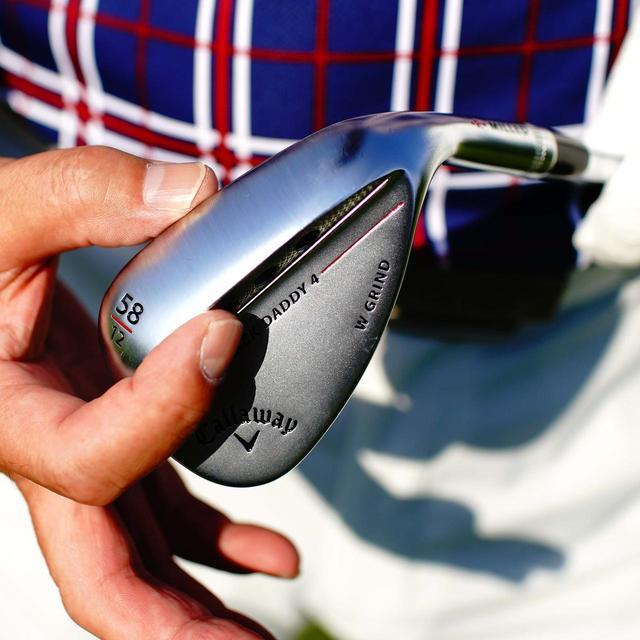 画像: マックダディ4(キャロウェイゴルフ) ヘッド:軟鉄鍛造 ロフト角:48度、50度、52度、54度、56度、58度、60度、64度