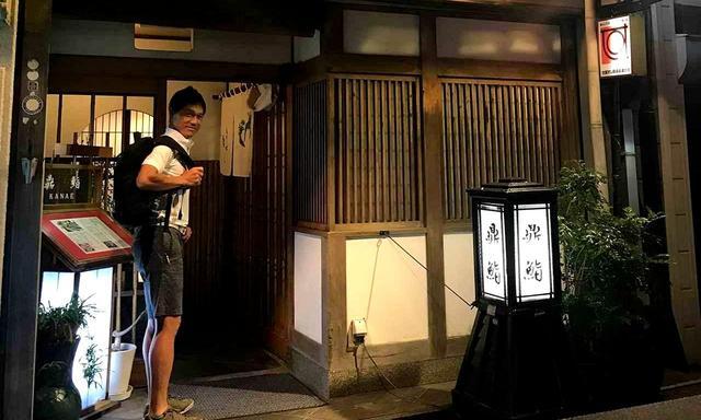 画像: 地元のゴルファーに紹介してもらった「鼎鮨(かなえすし)」へ