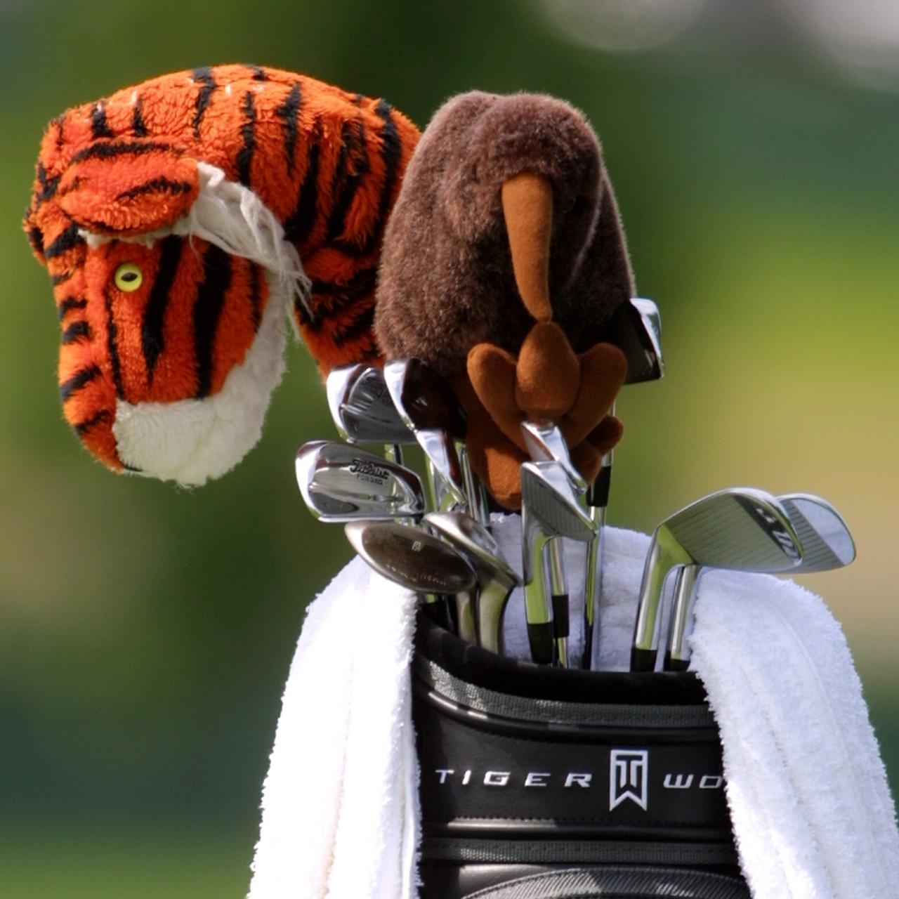 """画像: タイガーは昔から""""操作性""""重視。それがアイアン選びに表れる"""