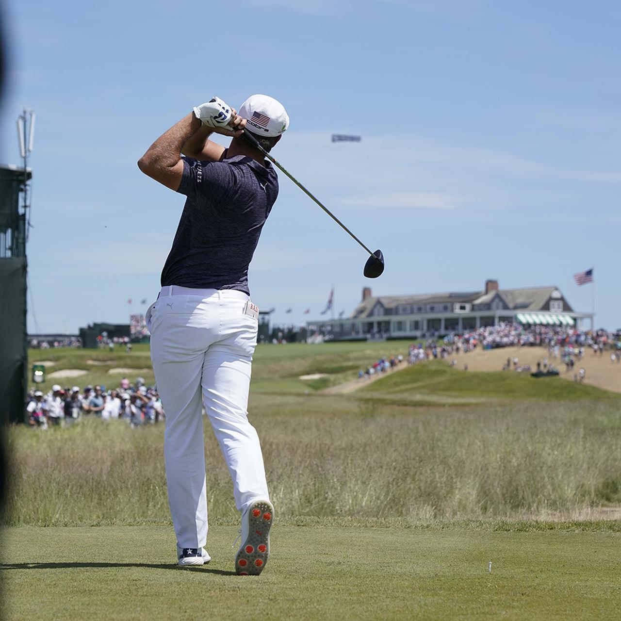 """画像1: 【ブライソン・デシャンボー】変則にみえて合理的。同じ動きで全クラブを網羅""""ライン出し""""スウィング。PGAツアー初戦も優勝"""
