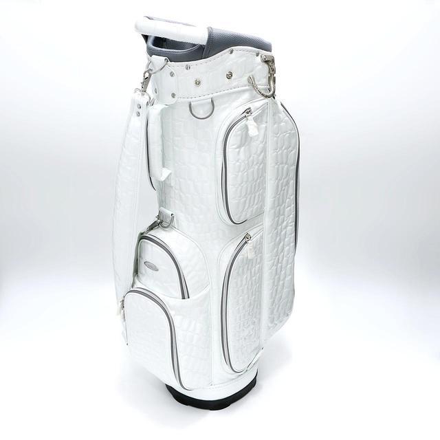画像: 「OUUL アリゲーター5WAY CART BAG」のホワイトをプレゼント