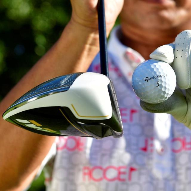画像: 伸びるドローボールが出るby福永プロ 「打感はソフトなのに、弾き返す感じが強い。そして、球がつかまります」