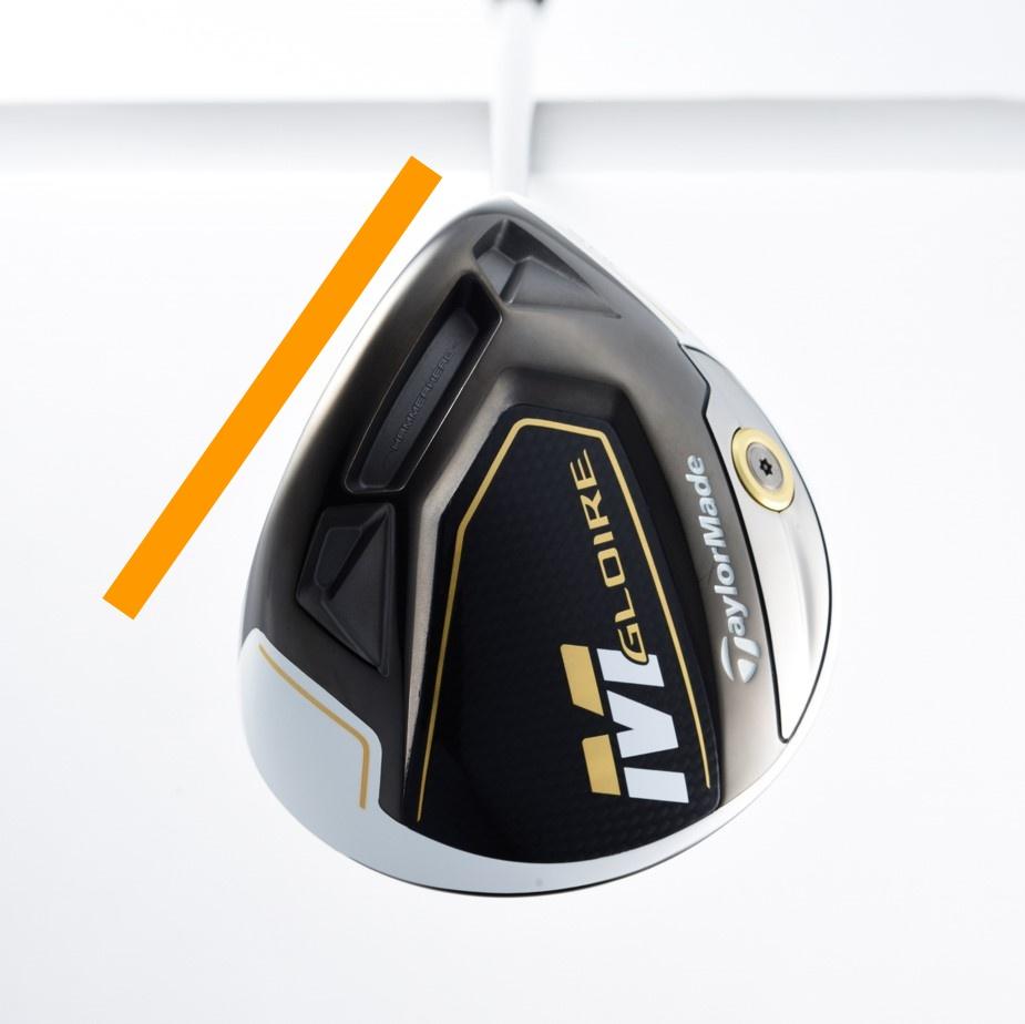 画像: 複合ヘッドによる余剰重量を最適配置。 つかまりの目安となる重心角は30.8度。前作F2と比べて約5度大きく(編集部調べ)