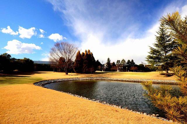 画像: 戦略性を高める池がコース内に3カ所もある。写真奥に見えるのが5番グリーン