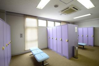 清潔なドレスルーム