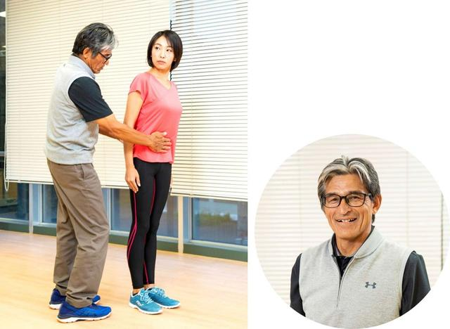 画像: 【指導】筑波大学 白木仁教授 JGAフィジカルコーチを務める。プロゴルファーやアスリートをサポート 【ランモデル】高家望愛