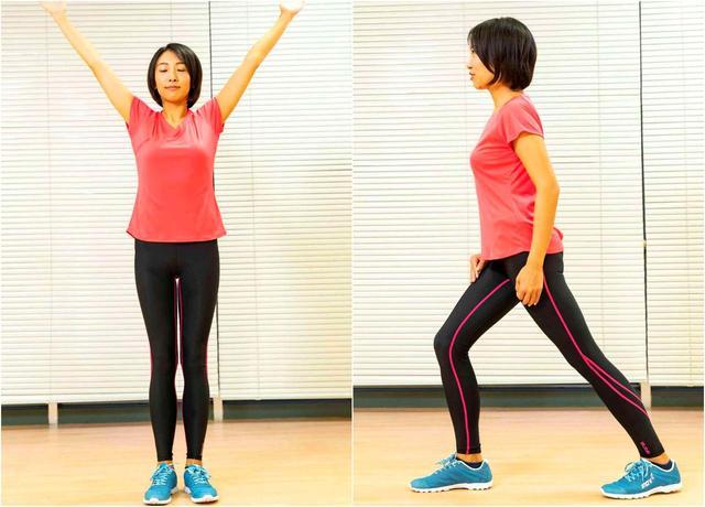 画像: 腕を回して肩甲骨の可動域を広げる。腕が振りやすくなる。アキレス腱をしっかり伸ばせば足の動きがスムーズに