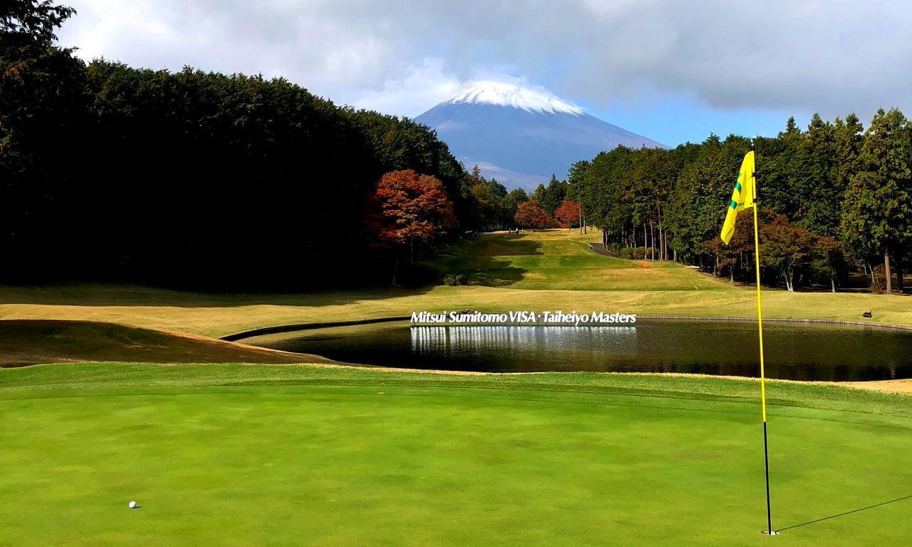 画像: 17番/230ヤード/パー3 富士山ビューの美しいホール
