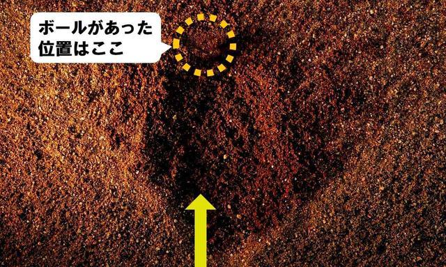 画像: 軟らかい砂の上だと少しでもあおるとダフリにつながる。ヘッドが上から入ったかどうか確認しやすい。バンカー練習場などで確認してみよう