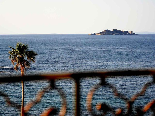 画像: 軍艦島が見えるオーシャンビュー