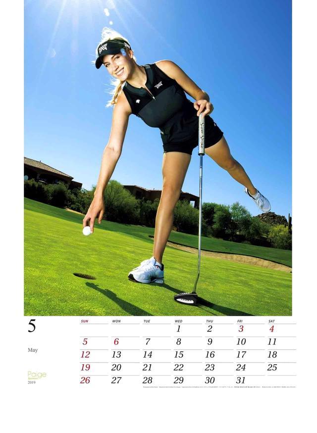 """画像2: 【ゴルフカレンダー】2019年はリビングにマスターズを飾ろう! ゴルフダイジェストの""""カレンダー""""と""""ダイアリー""""。ご贈答にも最適です"""