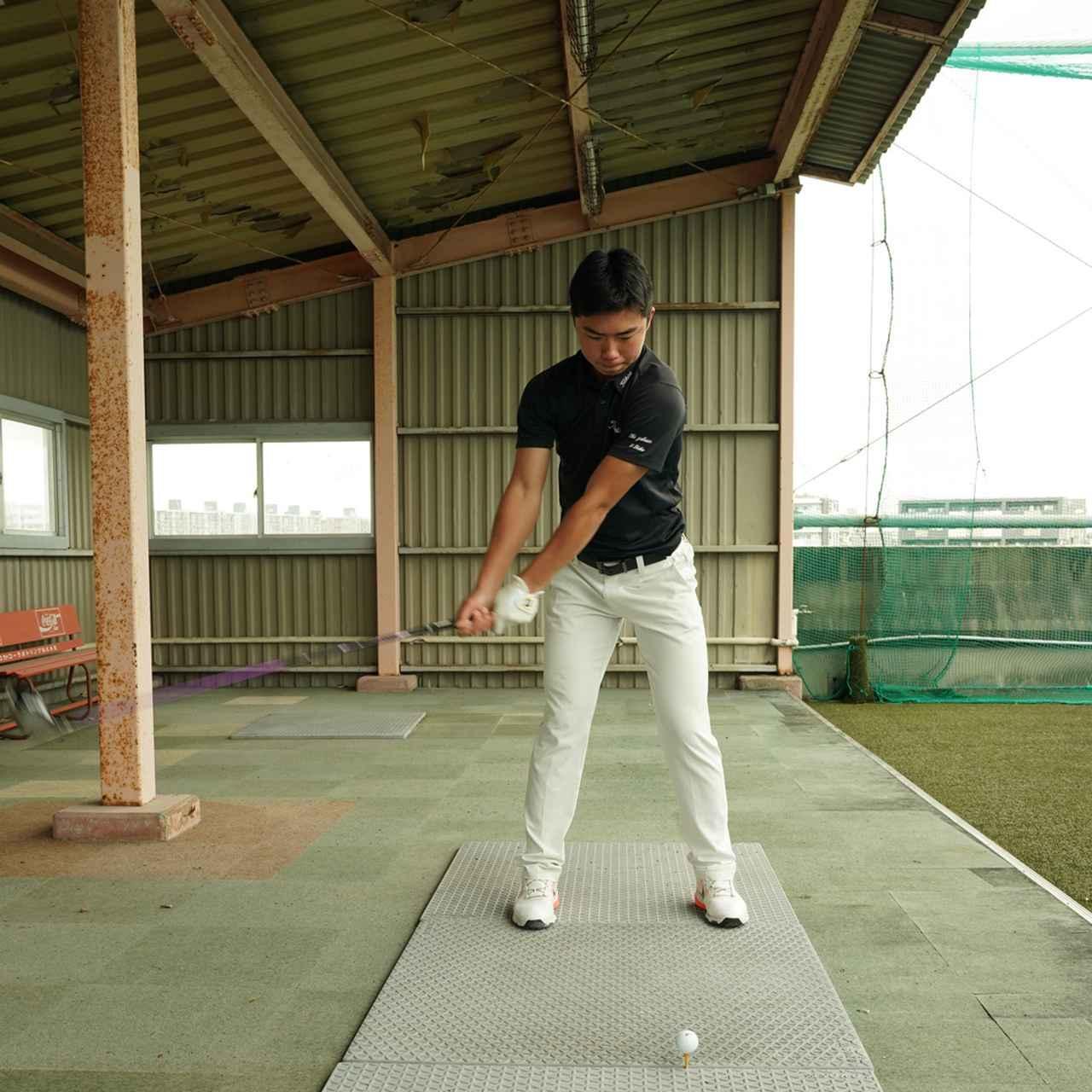 画像1: 【10本で握る】テンフィンガーグリップで300ヤードを飛ばす高校2年! 篠塚武久先生が教え子、出利葉太一郎くんのスウィングを解説