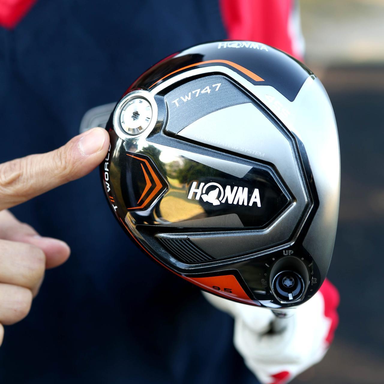 画像: 打球がねじれない自然なフェースターン。 ドローやフェードの打ち分けはできますが、真っすぐ強い球のほうが打ちやすいです
