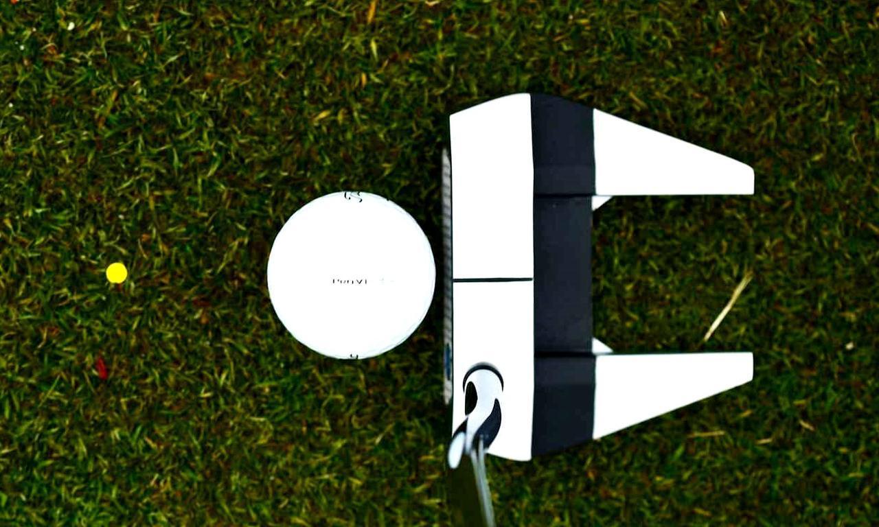 画像: ボールの先5センチにスパットを設定