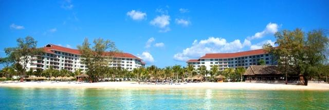 画像: 目の前がプライベートビーチ「ビンパールリゾート」