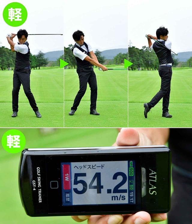 画像7: 【練習器具】プロが試したら、ヘッドスピード2m/sアップ。重さ違いの3本の棒「スーパースピードゴルフ」。ミケルソンも松山英樹も練習に取り入れている