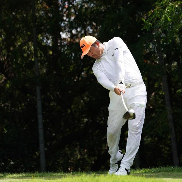 画像15: 【チェ・ホソン】振るたびに球を操る意識を感じる。「1本脚フィニッシュ」に詰まっているゴルフの神髄