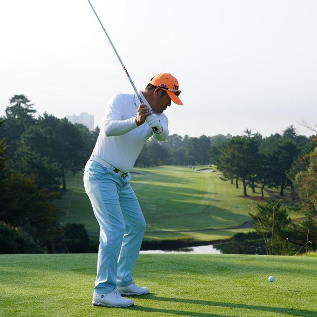 画像6: 【チェ・ホソン】振るたびに球を操る意識を感じる。「1本脚フィニッシュ」に詰まっているゴルフの神髄