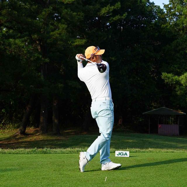 画像12: 【チェ・ホソン】振るたびに球を操る意識を感じる。「1本脚フィニッシュ」に詰まっているゴルフの神髄