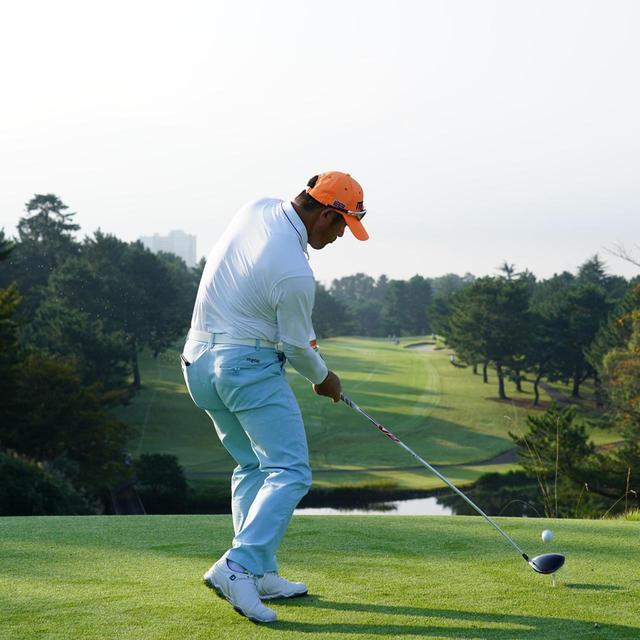 画像7: 【チェ・ホソン】振るたびに球を操る意識を感じる。「1本脚フィニッシュ」に詰まっているゴルフの神髄