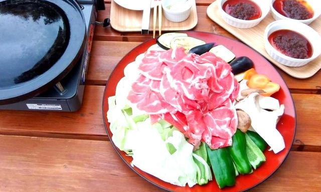 画像: ジンギスカン定食 1500円