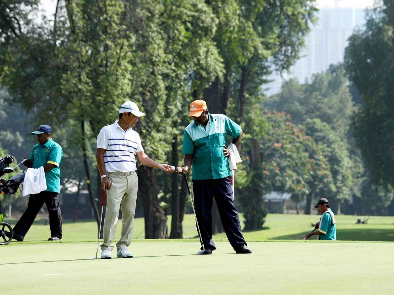 画像: 「英語が通じる!」 公用語はマレー語だが英語も普及。当然ゴルフ場でも英語でOK