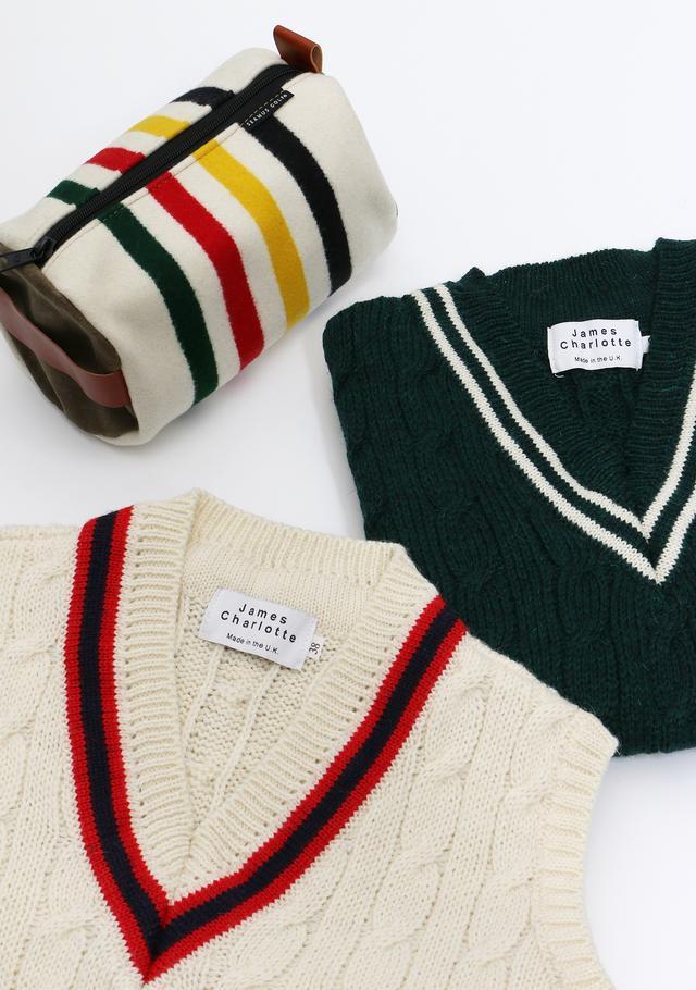 画像: 寒い日のゴルフは、温かみのある柄とデザインは、寒さを忘れるくらい。トラディショナルなアイテムでお洒落ゴルファーになろう!