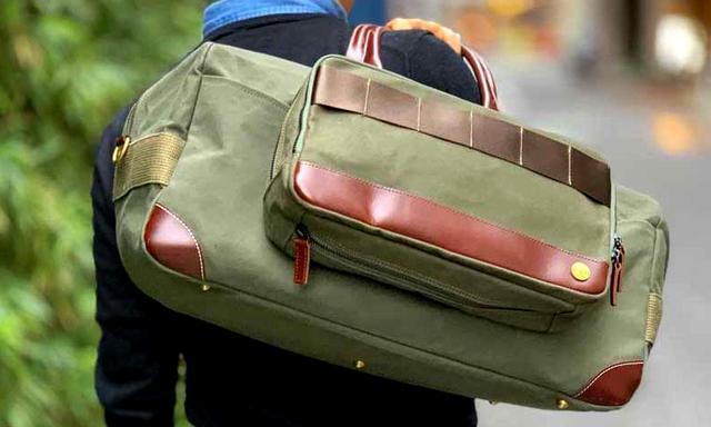 画像: ドラゴン帆布の「ボストンバッグ」とセットで使うのもあり