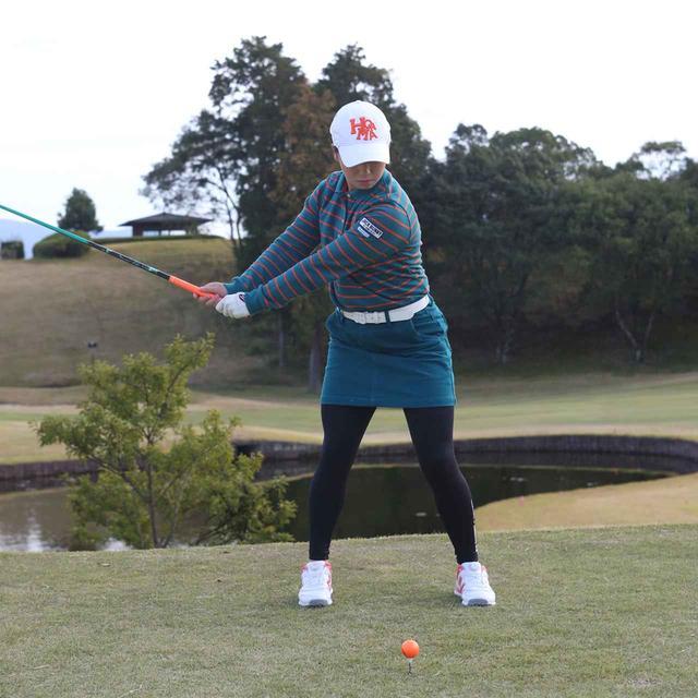 画像2: 【10本で握る】日本女子オープンでローアマ獲得の後藤未有さんは、現役女子高生のテンフィンガーグリップゴルファー。彼女の周りで「10本グリップ、増殖中!」