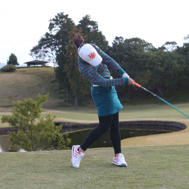 画像5: 【10本で握る】日本女子オープンでローアマ獲得の後藤未有さんは、現役女子高生のテンフィンガーグリップゴルファー。彼女の周りで「10本グリップ、増殖中!」