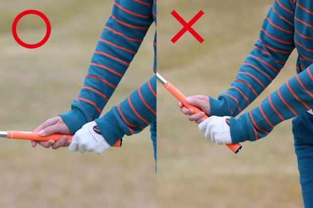 画像4: アプローチも10本グリップ! 「ライに強く距離感が出る」