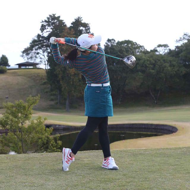 画像6: 【10本で握る】日本女子オープンでローアマ獲得の後藤未有さんは、現役女子高生のテンフィンガーグリップゴルファー。彼女の周りで「10本グリップ、増殖中!」