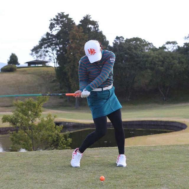 画像4: 【10本で握る】日本女子オープンでローアマ獲得の後藤未有さんは、現役女子高生のテンフィンガーグリップゴルファー。彼女の周りで「10本グリップ、増殖中!」