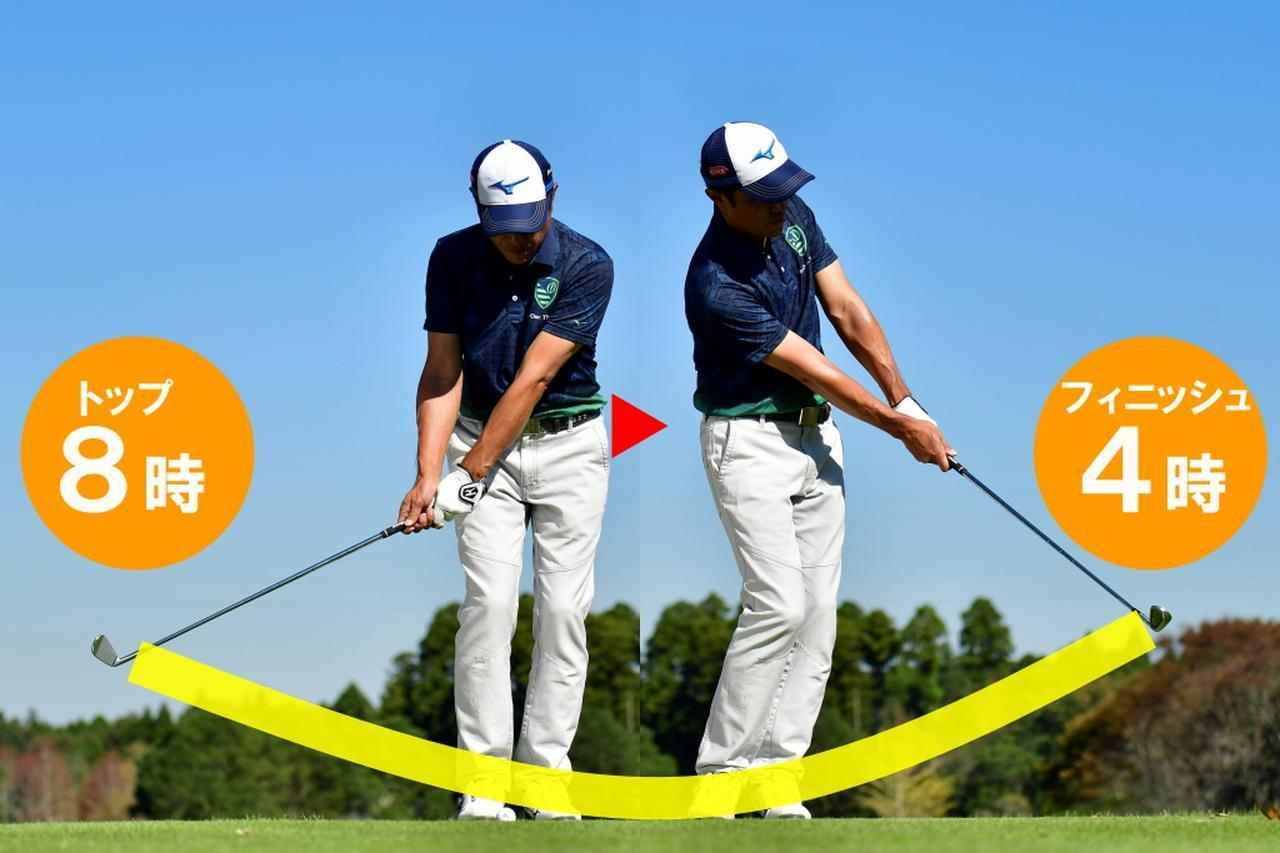 画像: 転がしで6番を選ぶ理由。①振り幅が小さくて済む②スピンがかからない③インパクトが安定し距離感に集中できる