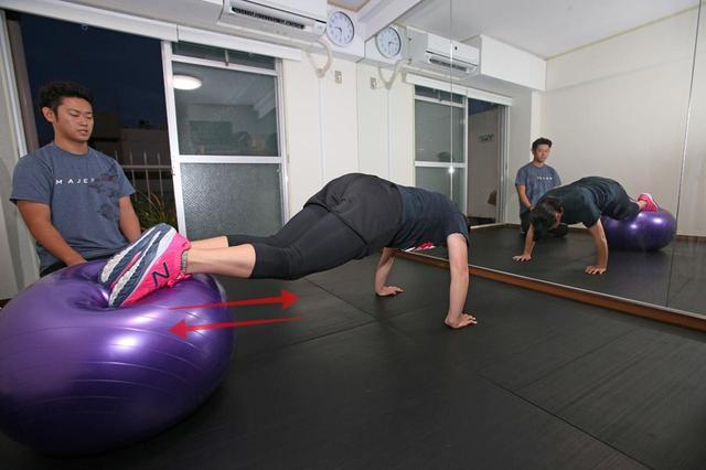 画像: (左)トレーニングコーチ田原義規