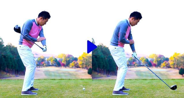 画像3: クラブヘッドが垂れない絶対条件「ダウンで左腕を外側に回す」