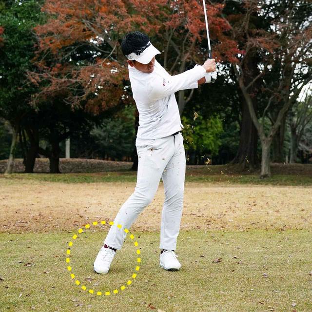 画像: 左のお尻に張りを持たせる